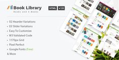 Book Store & Library - Online Book Store