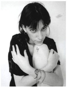 soundsof71:  Patti Smith The Girl Who Lived 1973 by Robert Mapplethorpe. (Cmon you saw that tattoo and thought Harry Potter too)
