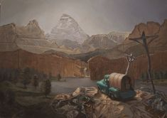 Meet western painter Jason Cytacki, a talented young & emerging artist selected for Southwest Art's annual 21 Under 31 feature in Western Landscape, Southwest Art, Western Art, Diorama, Mythology, 21st, Artsy, Painting, This Or That Questions