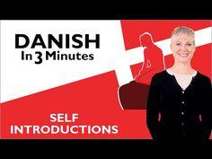 Learn Danish - How to Introduce Yourself in Danish - YouTube