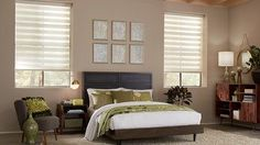 Our Premier Sheer Shades offers the effective light control of a horizontal blind with the soft elegance of a fabric shade. The uniquely designed fabrics provide privacy for your home while preserving your view to the outside and gently filter light in. Sheer Shades, Shades Blinds, Roman Shades, House Blinds, Blinds For Windows, Best Blinds, Sliding Door Window Treatments, Window Sheers, Horizontal Blinds