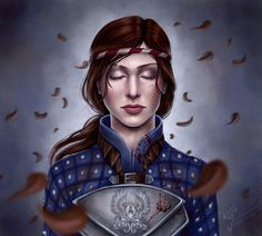 Dragon Age Orogins: In Peace, Vigilance by hello-ground on deviantART. My grey warden pride increases tenfold when I see this.