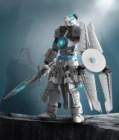 Bionicle Heroes, Lego Bionicle, Lego Sculptures, Amazing Lego Creations, Lego Mechs, Hero Factory, Lego Military, Lego Design, Lego Models