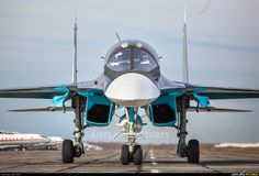 Russia - Air Force Sukhoi Su-34