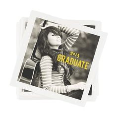 Graduation Napkins -- Make Your Mark | Pear Tree Greetings