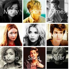 Lucy Hale As Mary Macdonald William Moseley As Adam Mckinnon Aaron Johnson As James Potter Karen Gillan As Lily E James Potter Lily Evans Harry Potter World