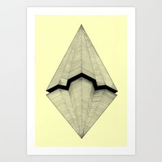 Paper Planes Art Print by Rui do RosA!rio Ribeiro - X-Small Origami, Diy Papier, Zen Doodle, Flower Wall, Wall Flowers, Graphic Design Art, Canvas, Geometric Shapes, How To Draw Hands