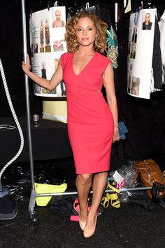 Margarita Levieva Photos Photos - Actress Margarita Levieva seen backstage during Mercedes-Benz Fashion Week Spring 2015 at Lincoln Center for the Performing Arts on September 5, 2014 in New York City. - Seen Around Lincoln Center - Day 2 - Mercedes-Benz Fashion Week Spring 2015