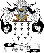 De Baretto Spanish Coat Of Arms www.4crests.com #coatofarms #familycrest #familycrests #coatsofarms #heraldry #family #genealogy #familyreunion #names #history #medieval #codeofarms #familyshield #shield #crest #clan #badge #tattoo #crests #reunion #surname #genealogy #spain #spanish #shield #code #coat #of #arms