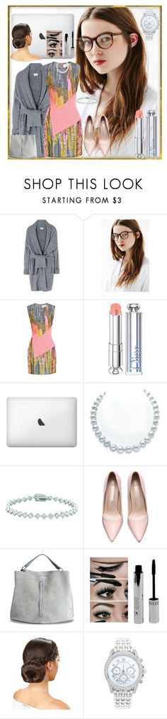 """Lane"" by bren-johnson ❤ liked on Polyvore featuring Acne Studios, Prabal Gurung, Christian Dior, Georgini, Maison Margiela, Lane Bryant, women's clothing, women's fashion, women and female"
