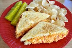 SouthernPlate's Spicy Pimento Cheese.  Haven't ever tried it with the kick but I bet it's great!