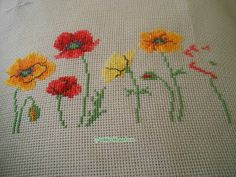 Mini Floral Sampler – Southern Daisy Sewing and Threads - frieda Cross Stitching, Cross Stitch Embroidery, Cross Stitch Patterns, Stitch Crochet, Peyote Stitch, Cross Stitch Rose, Cross Stitch Flowers, Neuer Job, Hand Embroidery Flowers