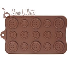 Massive Chocolate Buttons Mould
