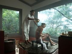 Pour out the stress on your next vacation! #Vivanta #VivantabyTaj #Madikeri #Coorg #JivaSpa #Relaxation #Holiday #Rejuvenation