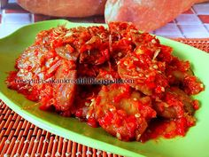 Resep Jengkol Balado | Resep Masakan Indonesia (Indonesian Food Recipe)