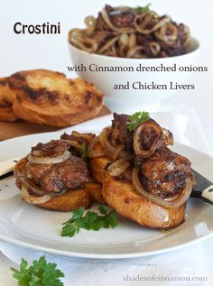 chicken livers and onion