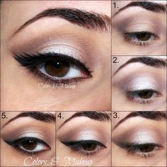 Chic Makeup Tutorial by Livia G. Click the pic to see the how-to. #beauty #makeup #formal #makeuphowto