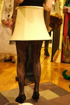 """A Christmas Story"" Leg Lamp Costume! Maybe to switch it up a little at an ugly Christmas sweater party"