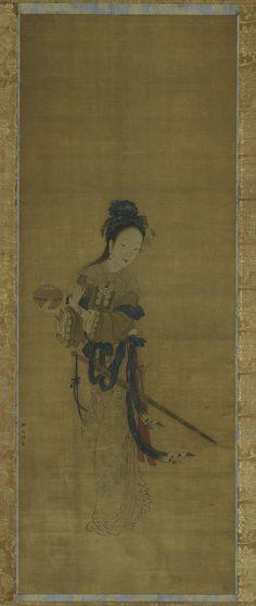 Red Thread Steals a Gold Box Zhou Wenju Korean Art c0d1920381