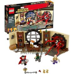 Lego Year 2016 Marvel Super Heroes Series Set #76060 - DOCTOR STRANGE'S SANCTUM SANCTORUM with Doctor Strange, Karl Mordo and The Ancient One (Pieces: 358)