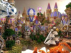 Ferrin – Fantasy City Minecraft World Save