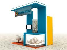 Novartis Glavus Campaign Variable Exhibition Stand on Behance Exhibition Stall, Exhibition Stand Design, Web Banner Design, Expo Stand, Cinema 4d Tutorial, Point Of Purchase, Pop Design, Salon Design, Corporate Events