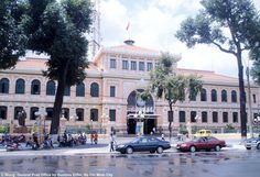 General Post Office (neo classical) by Gustave Eiffel, HCMC Vietnam
