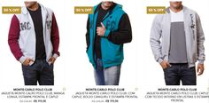 Jaqueta Monte-Carlo Polo Club - 5 Modelos Disponíveis << R$ 5995 >>