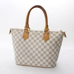 Louis Vuitton Saleya PM Damier Azur Shoulder bags White Canvas N51186