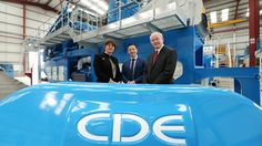 CDE Global industry announces 110 new Northern Ireland new jobs in Cookstown in a £7m investment Cookstown company CDE Global to create