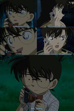 Conan Edogawa and Ran Mouri