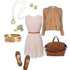 Perfect summer outfit but with heels..:)