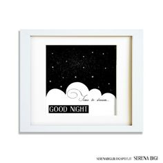 Time to dream...  GOOD NIGHT  Illustrator & Wacom Tablet #illustrator #illustration #wacom #night #painting