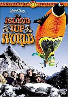The Island at the Top of the World (1974 / DVD) David Hartman, Donald Sinden, Jacques Marin, Mako, David Gwillim