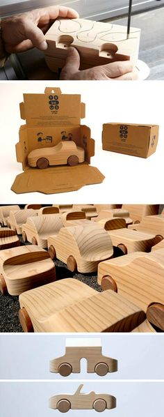Wood Toy Maker's Sanctuary - Making Karim Rashid car