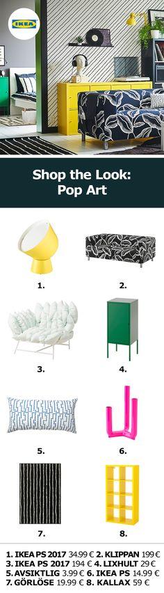 IKEA Deutschland | Shop the look: Pop Art