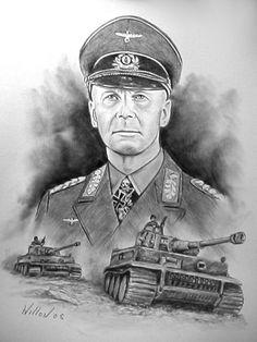 Rommel, The Desert Fox by willow1.deviantart.com on @deviantART