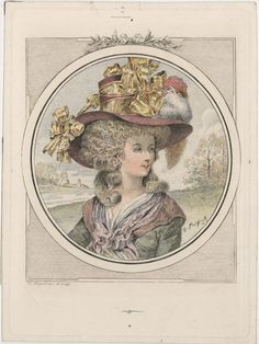 Rose Bertin (1747-1813), French Milliner and Dressmaker to Marie Antoinette, she was the first celebrated French fashion designer and is credited with bringing fashion to the forefront of popular culture.