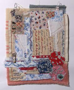 New Year, new plans, new textile workshops! - Ali Ferguson New Year, new plans, new textile workshops! Fabric Journals, Art Journals, Fabric Art, Fabric Books, Textile Artists, Textile Fiber Art, Vintage Fabrics, Needle And Thread, Hand Stitching