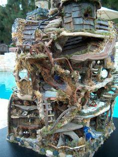 Fairy Castle - ©  Debbie Schramer -  Sculpture Online Artworks
