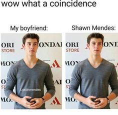 They look just the same! Jk I know this is Shawn Mendes I'm not stupid.
