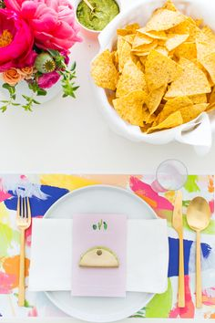 a cactus inspired brunch party   sugar & cloth   printable placemats