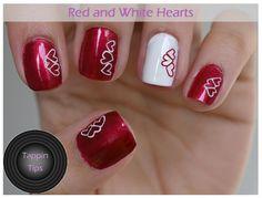 Tappin Tips: Valentine's Day Nail Art - Hearts