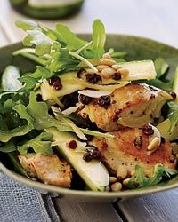 Chicken Salad with Zucchini, Lemon and Pine Nuts Recipe on Food & Wine