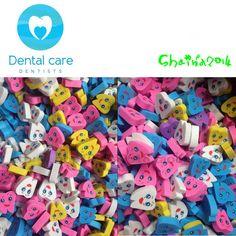 100pcs Molar Shaped Tooth Rubber Erasers Dentist Dental Clinic School Great Gift #UnbrandedGeneric