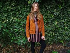 Trine from Trines Wardrobe in AW15 Anis jacket.