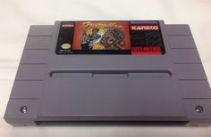 Power Moves - Super Nintendo SNES Cartridge Tested Works Great
