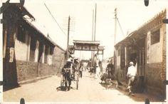 Alleyway 1920's Chefoo, China