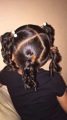 New Baby Girl Hairstyles Curly Mixed Hair Daughters Ideas - Black Hairstyles Mixed Baby Hairstyles, Cute Toddler Hairstyles, Lil Girl Hairstyles, Cute Hairstyles For Kids, Kids Braided Hairstyles, Black Hairstyles, Hairstyles 2016, Hairdos, Undercut Designs