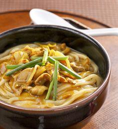 カレーうどん。Curry Udon.